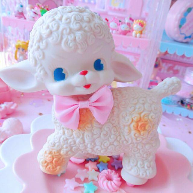現貨 超可愛昭和小羊 #我的家飾可超取