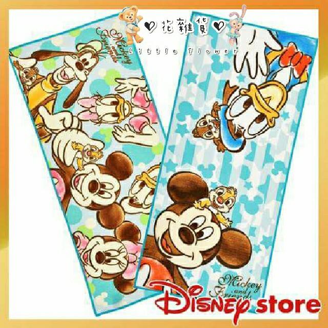 ♡ 花雜貨 ♡ Disney Store 日本迪士尼商店 毛巾組(米奇與好朋友)