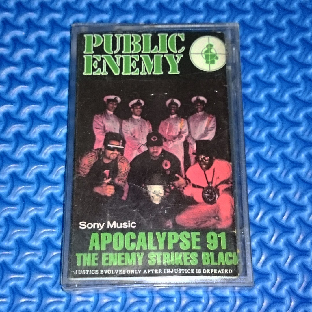🆒 Public Enemy - Apocalypse 91... The Enemy Strikes Black [1991] Cassette
