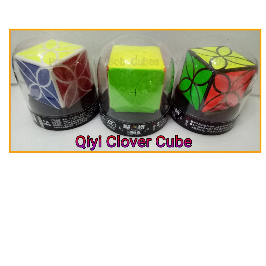 + Qiyi Clover Cube for sale in Singapore