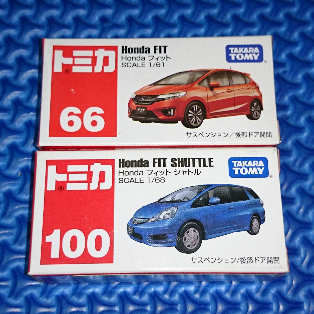 🆕 Tomica Honda Fit/Jazz Lot of 2