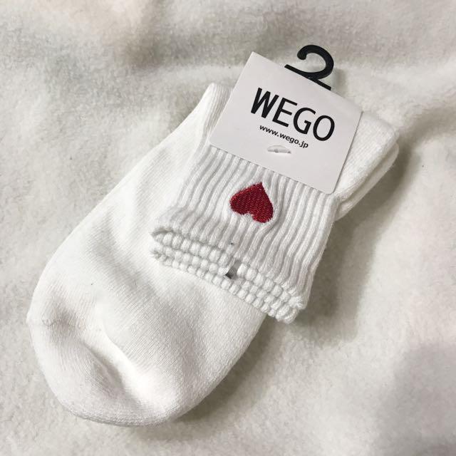 日本 Wego 原宿 下北澤 長襪 白襪