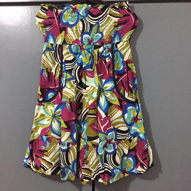 Abstract tube Dress / Beachwear