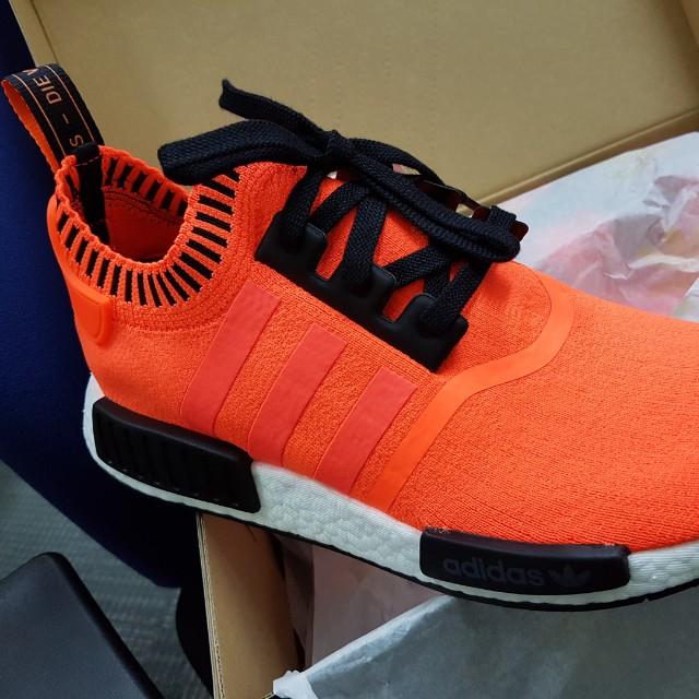 adidas NMD R1 Orange Noise size