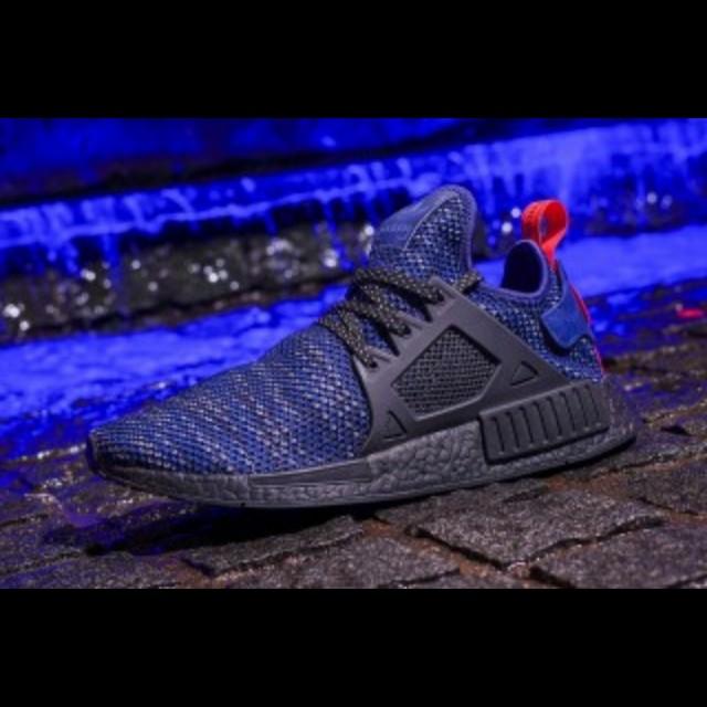 official photos e3c27 12c34 Adidas NMD XR1 Blue Glitch Europe Exclusive!, Men's Fashion ...