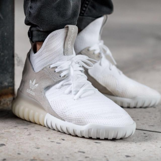 new style f9b8c 94b96 Adidas tubular x pk white, Men s Fashion, Footwear on Carousell