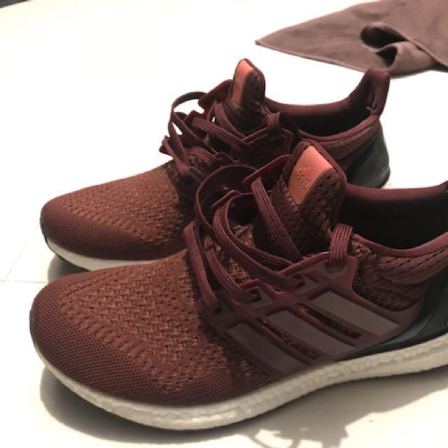 Adidas Ultraboost 2.0 Burgundy UA Real Boost