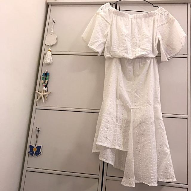 AIR平口連身洋裝