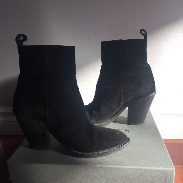 ALLSAINTS AW16 LORNA SUEDE BOOTS