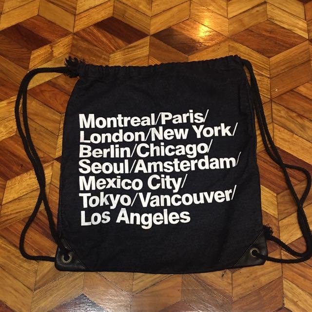 American Apparel Drawstring bag