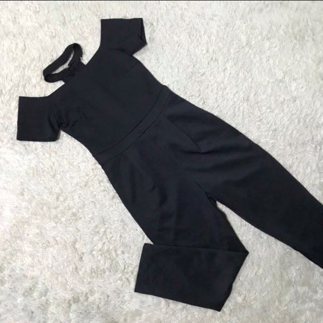 APARTMENT 8 CLOTHING Chocker Off SHOULDER jumpsuit/ pantsuit/ overall dress