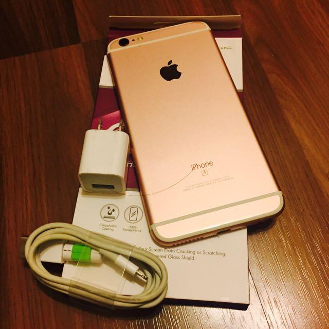 🍎Apple iPhone 6s Plus 128G 熱銷玫瑰金
