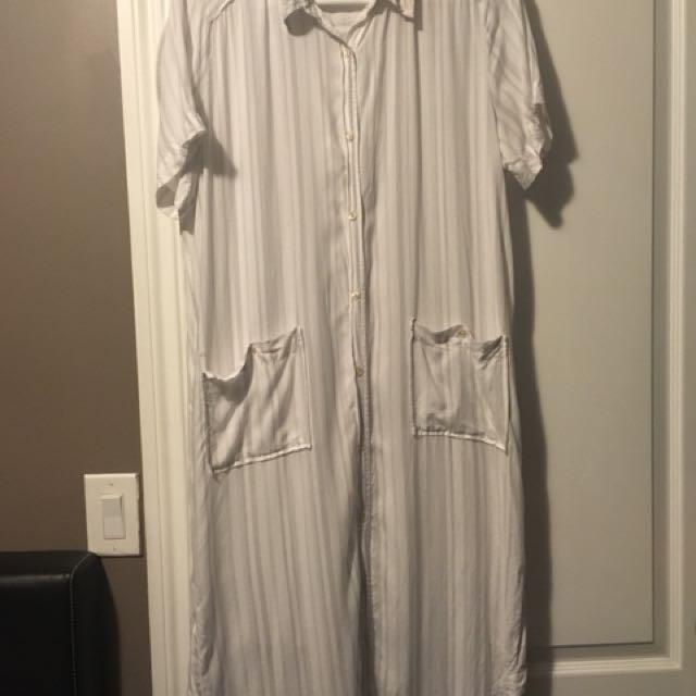 Aritzia - Wilfred Free Strokous Dress