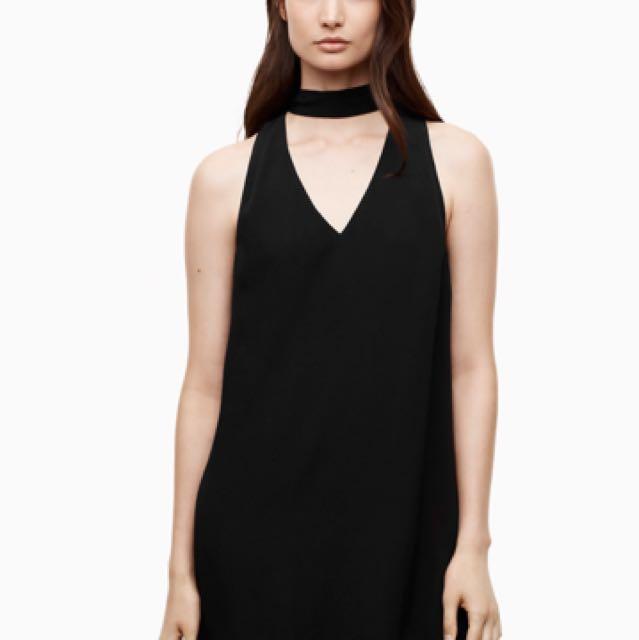 Aritzia Ethere Dress in Black Size Small