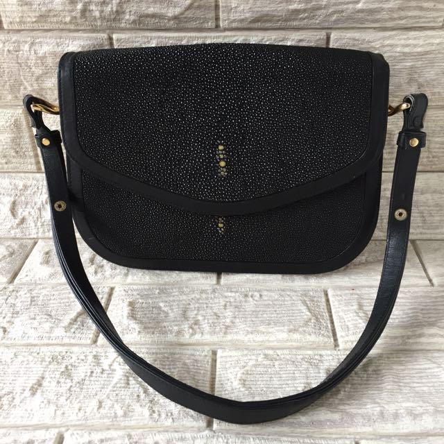 Authentic Stingray Shoulder Bag