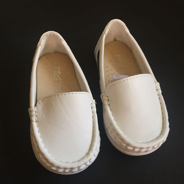 Baby White Loafers