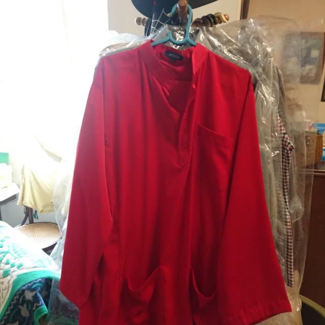 Baju Melayu Merah