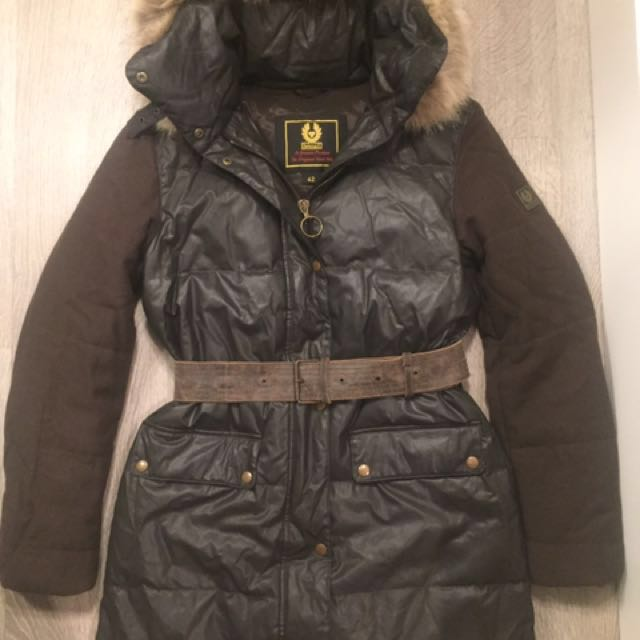 Belstaff winter woman jacket