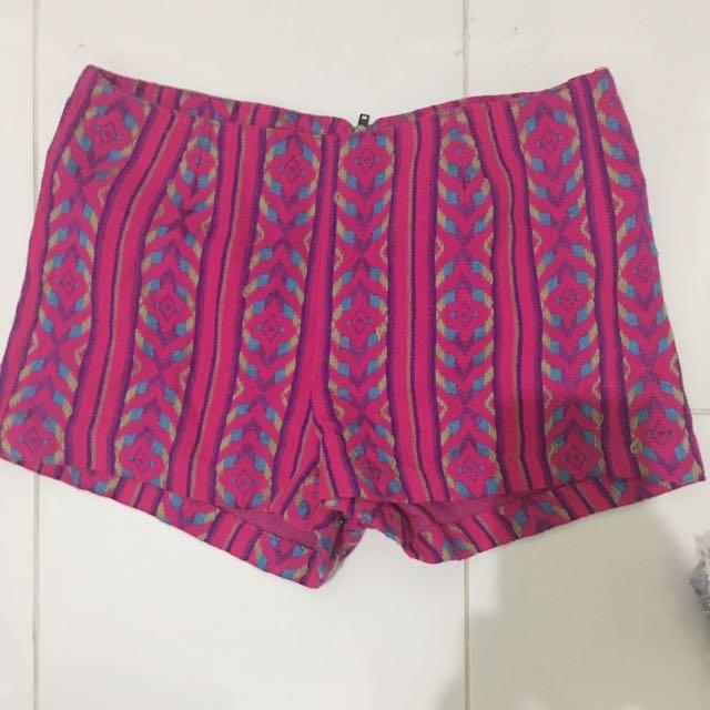 BETHANY MOTA boho shorts