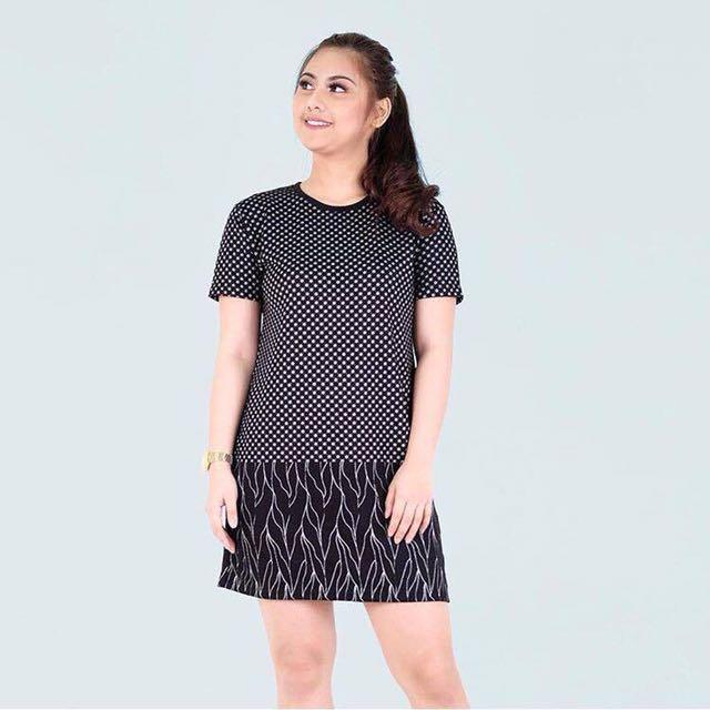 Black Combi Dress