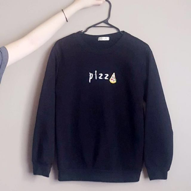 Black Pizza Crewneck