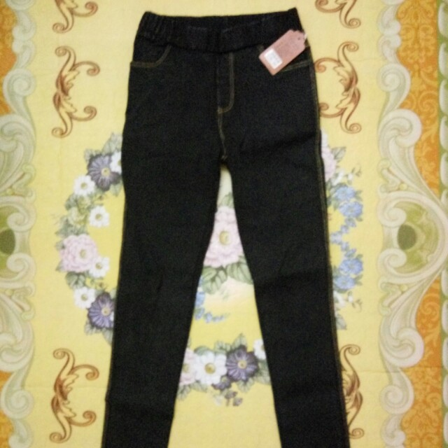 Black stretchable jeans