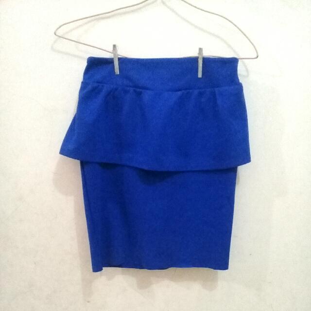 NEW Blue Mermaid Skirt