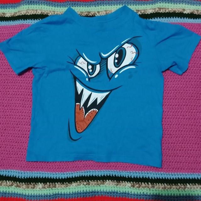 Blue Monster shirt