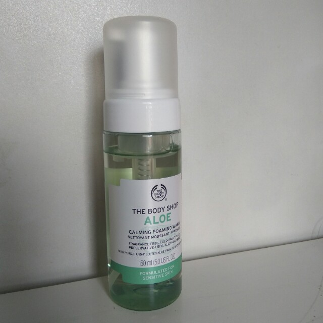 Body Shop Aloe Cleanser