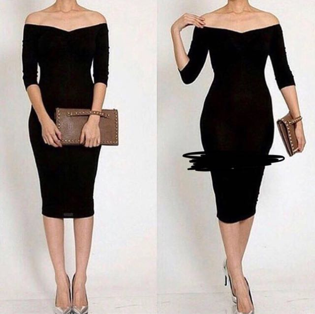 Bodycon long sleeve dress