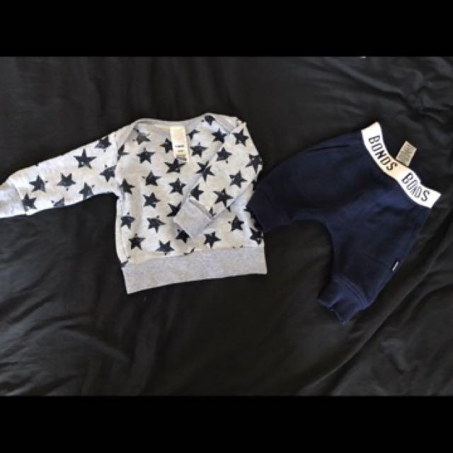 Bonds Baby set