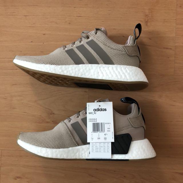 *BRAND NEW* Adidas NMD R2 - Beige - UK7