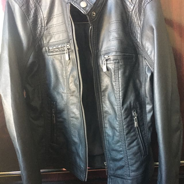 Brand New Leather Jacket (Black)