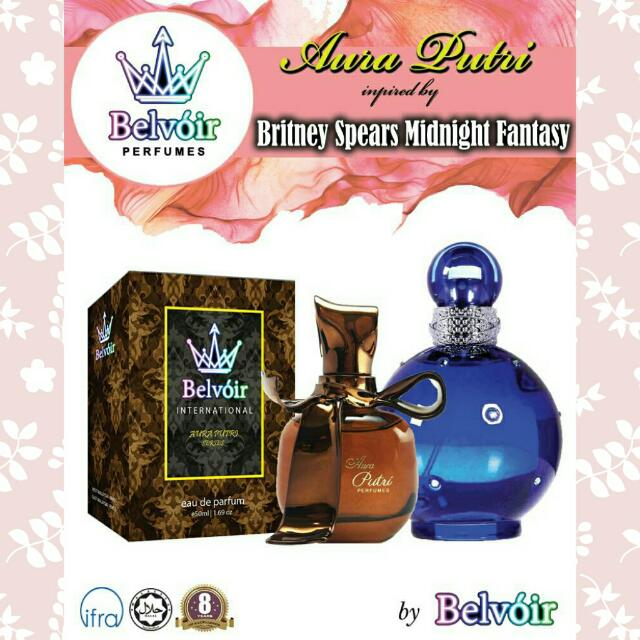 Britney Spears Midnight Fantasy Perfume Inspired by Belvoir Fragrance For Her Minyak Wangi 💞