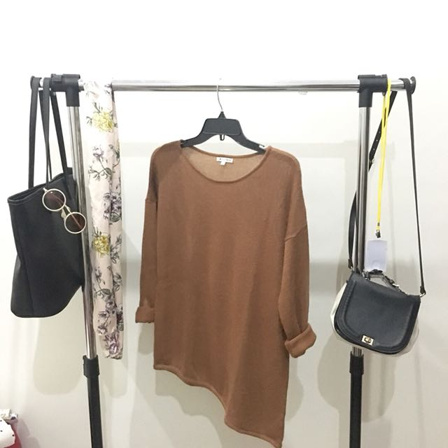 Brown Sweater by Colorbox