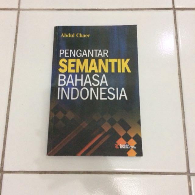 Buku semantik