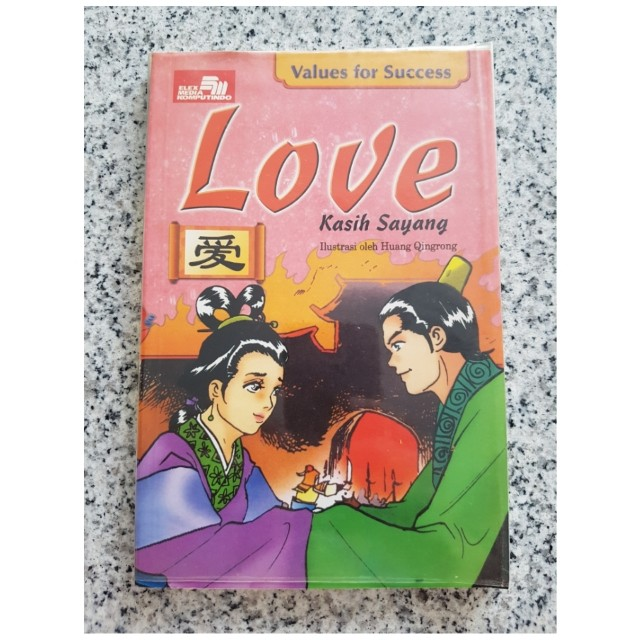 Buku Values for Success : Love / Kasih Sayang