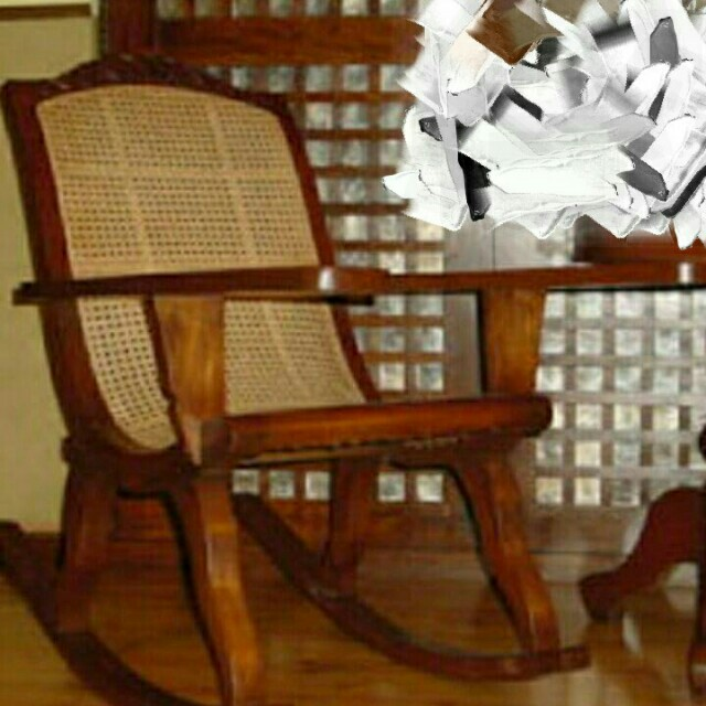 "Butaka ""rocking and non-rocking chair"""