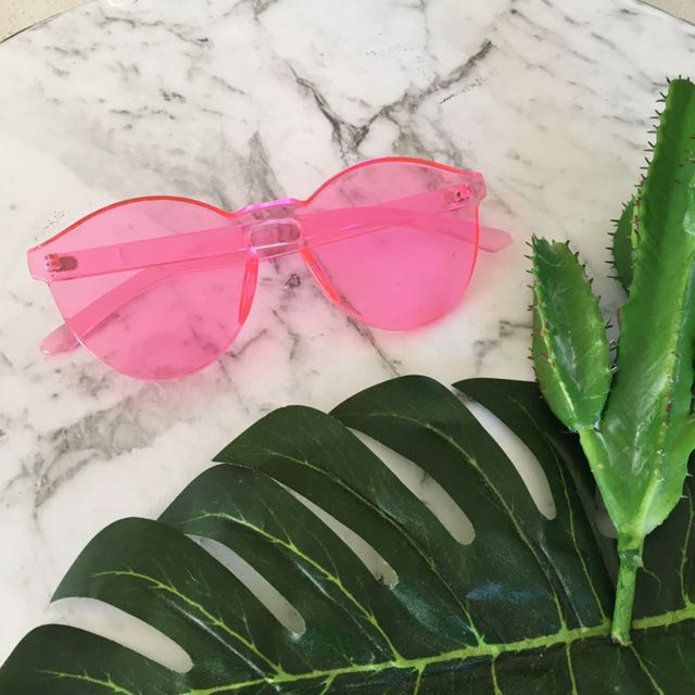Candy Pink Sunglasses UV400