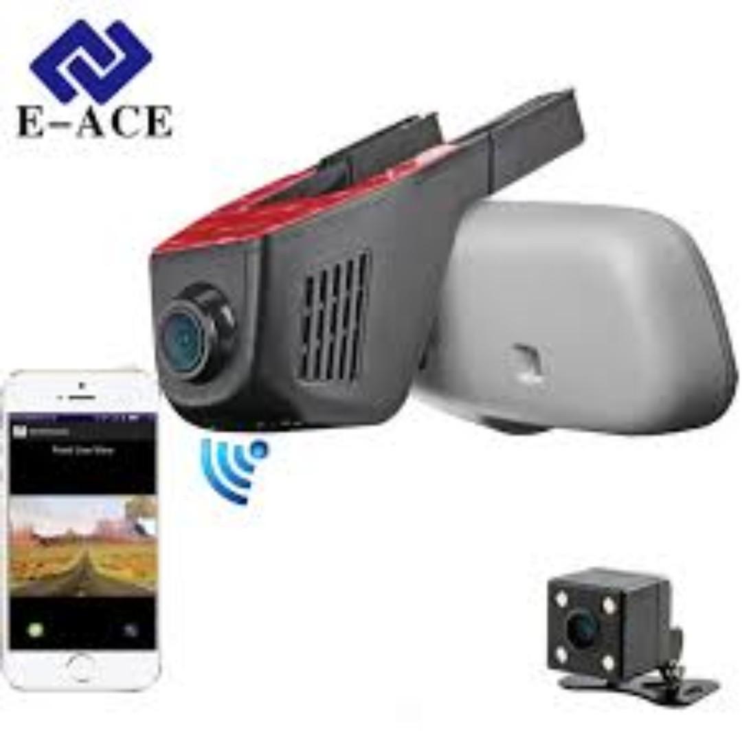 Car Dvr Wifi Camera Car Dvrs Video Recorder Monitor Dash Cam Black Box