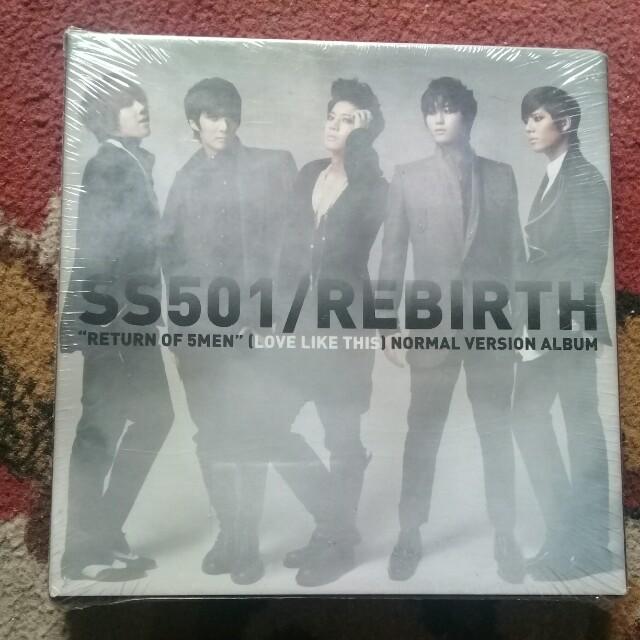 CD SS501 - REBIRTH MINI ALBUM (NORMAL VERSION)