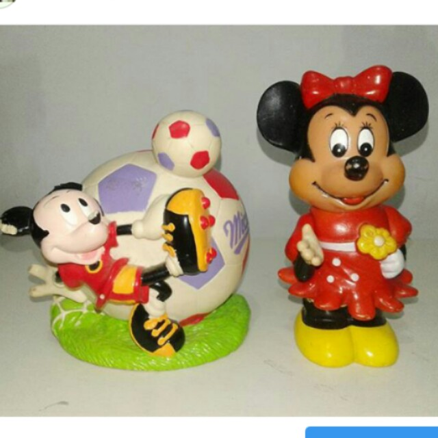 celengan mickey & minnie mouse