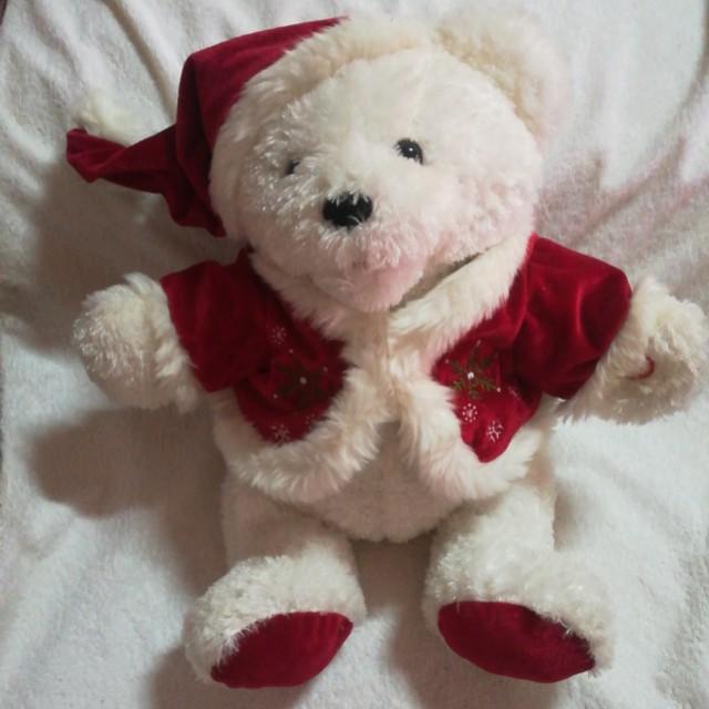 Christmas Animated & Singing Winter Teddy Bear