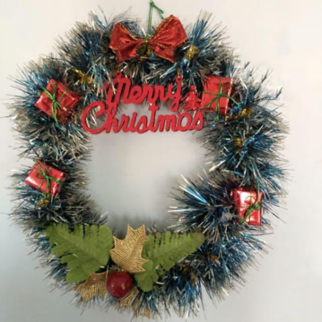 Christmas Wreath/Gantungan Pintu Natal