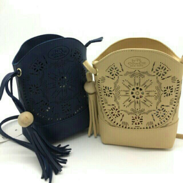 Coach Tassel Sling bag cellphone