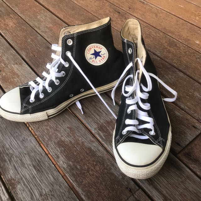 Converse all star chuck Taylor's high top black