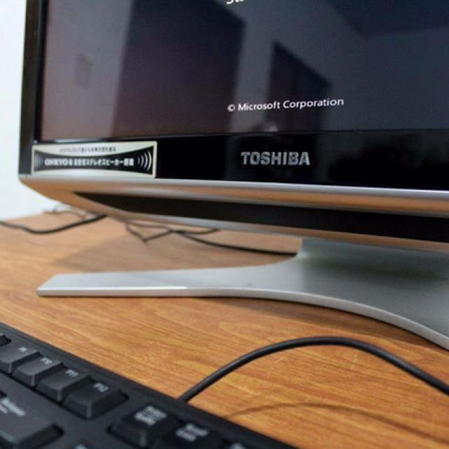 Core i5 Toshiba Desktop All in One Pc Free Deliver