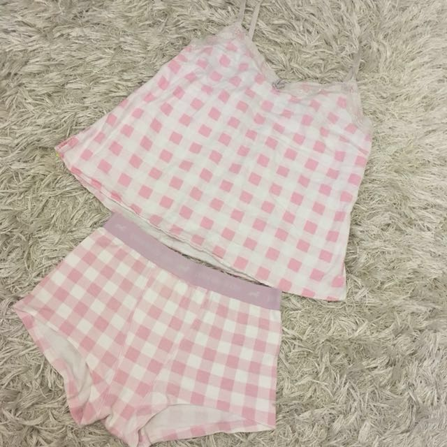 Cotton On Body Top & Peter Alexander Shorts