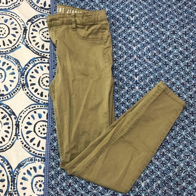 Dark Green Size 10 Jeans