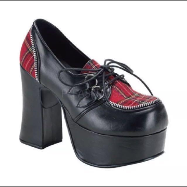 Demonia Platform Heels brand new